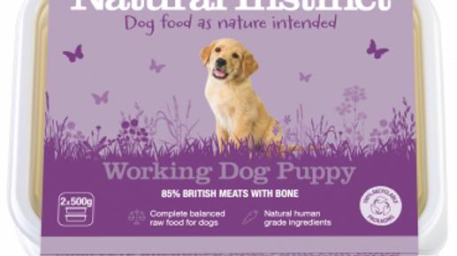 Working Dog Puppy - 1kg - Natural Instinct Raw Complete