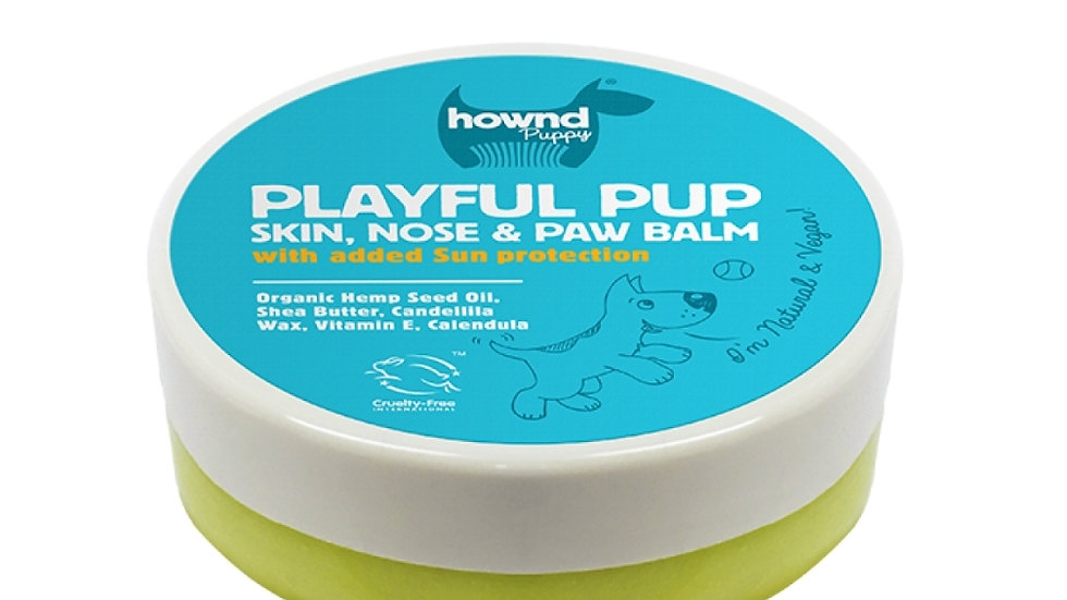 Playful Pup Skin Nose and Paw Balm with Sun Protection (50g)