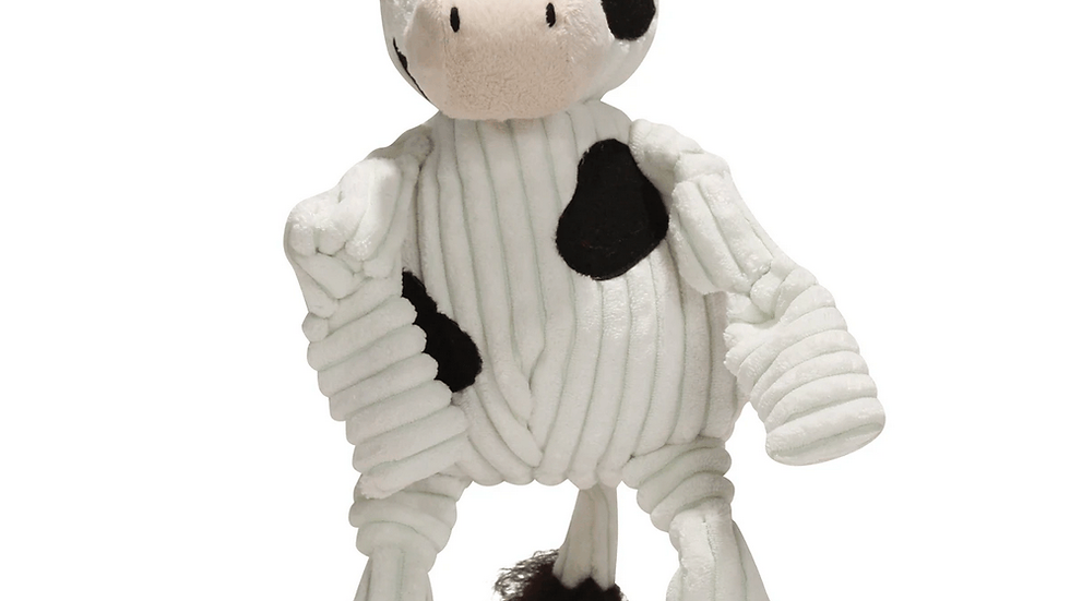 Hugglehounds - Cow - Dog Toy - Large