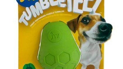 Jw Tumble Teez Treat Toy Green
