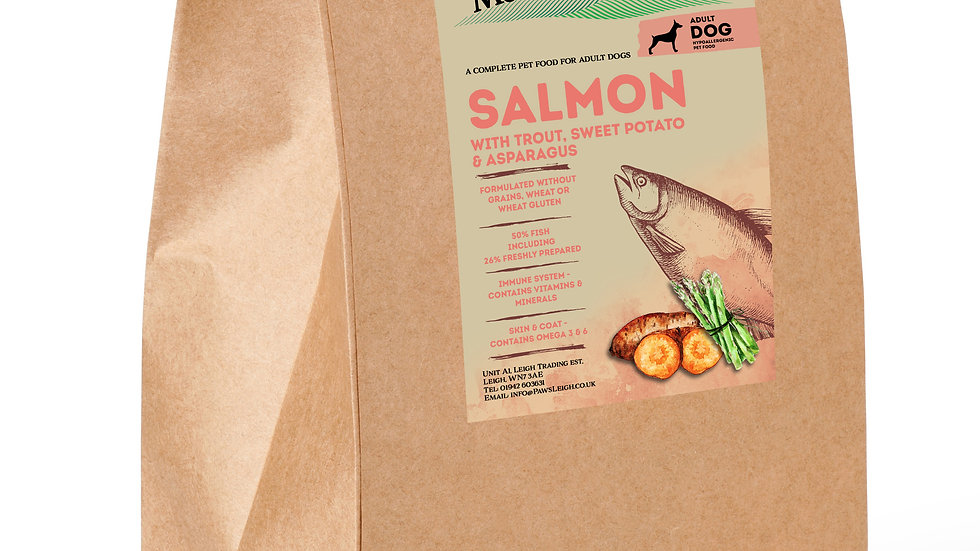 Working Dog Grain Free Complete Salmon & Trout 15kg