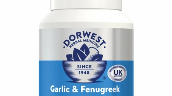 Garlic & Fenugreek Tablets For Dogs And Cats - Dorwest Herbs