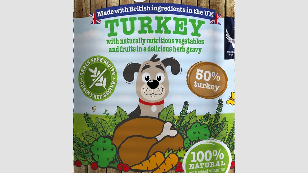 Little Big Paws - Turkey with Broccoli  - 390g