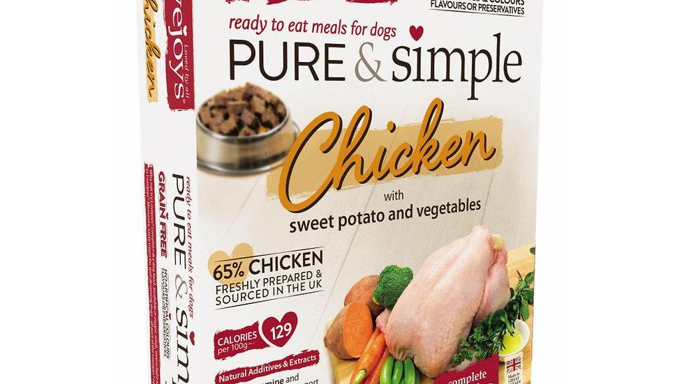 Pure & Simple Grain Free Chicken - 350g - Love Joys