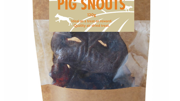 Natural Pig Snouts 120g - Hollings