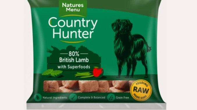 Natures Menu Raw - British Lamb - 1kg