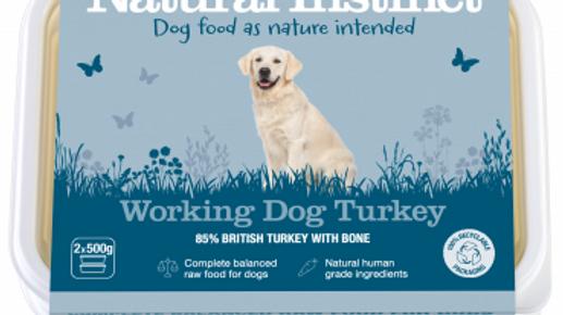 Working Dog Turkey - 1kg - Natural Instinct Raw Complete