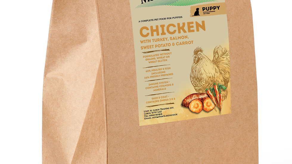 Chicken Puppy dog food complete