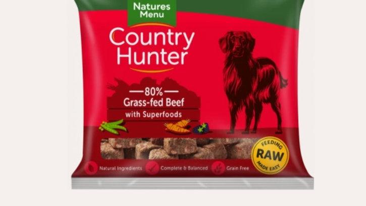 Natures Menu Raw - Grass Fed Beef - 1kg