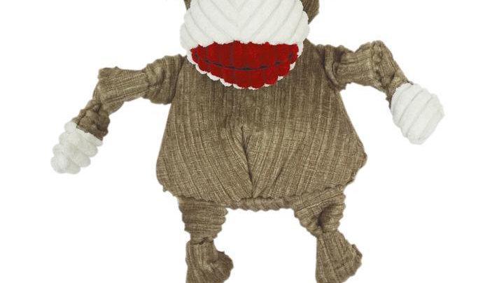 Hugglehounds - Monkey - Dog Toy - Large
