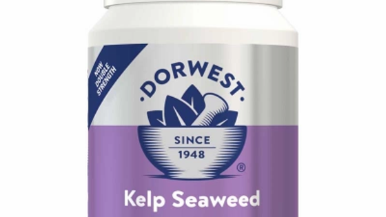 Kelp Seaweed Tablets For Dogs And Cats  - 100 Tablets - Dorwest Herbs