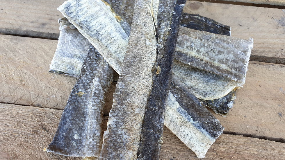 Air Dried Tasty Fish Skins 10pk Meadow Farm