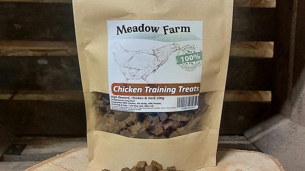Chicken Training Treats 200g, Meadow Farm