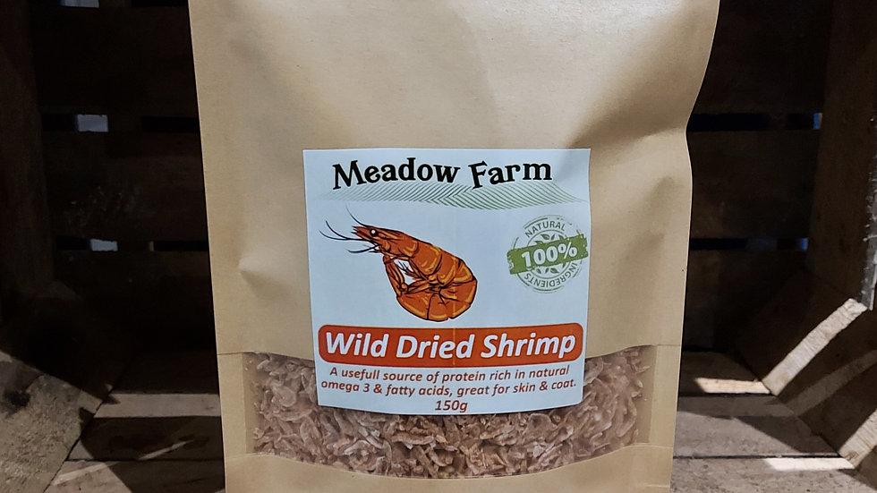 Wild Dried Shrimp, Meadow Farm, 150g