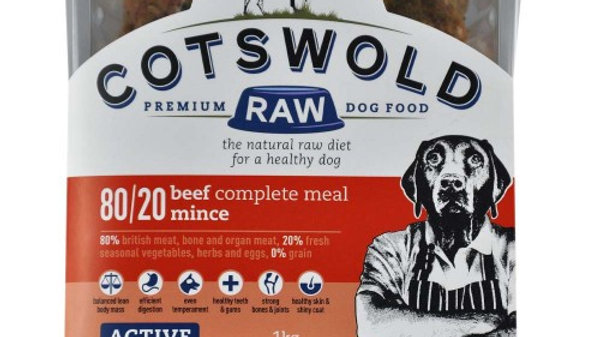 Cotswold Raw - BEEF MINCE - 80/20 ACTIVE - 1KG