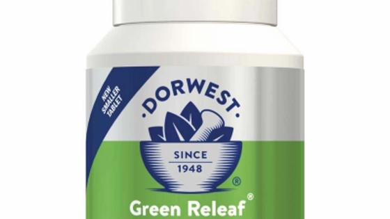 Green Releaf Tablets For Dogs And Cats  - Dorwest Herbs