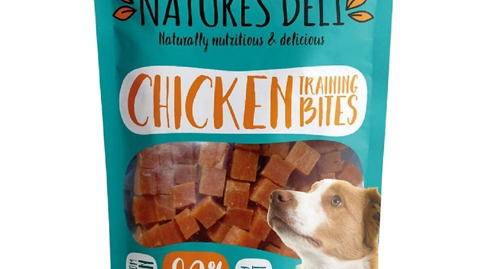 Natures Deli Chicken Training Bites 100g