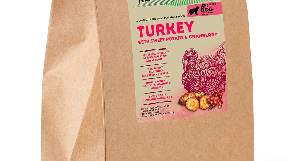 Working Dog Grain Free Complete Turkey 15kg