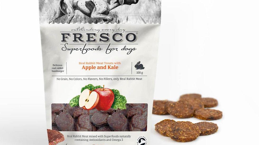 Fresco - Rabbit Hamburger with Apple and Kale - 100g