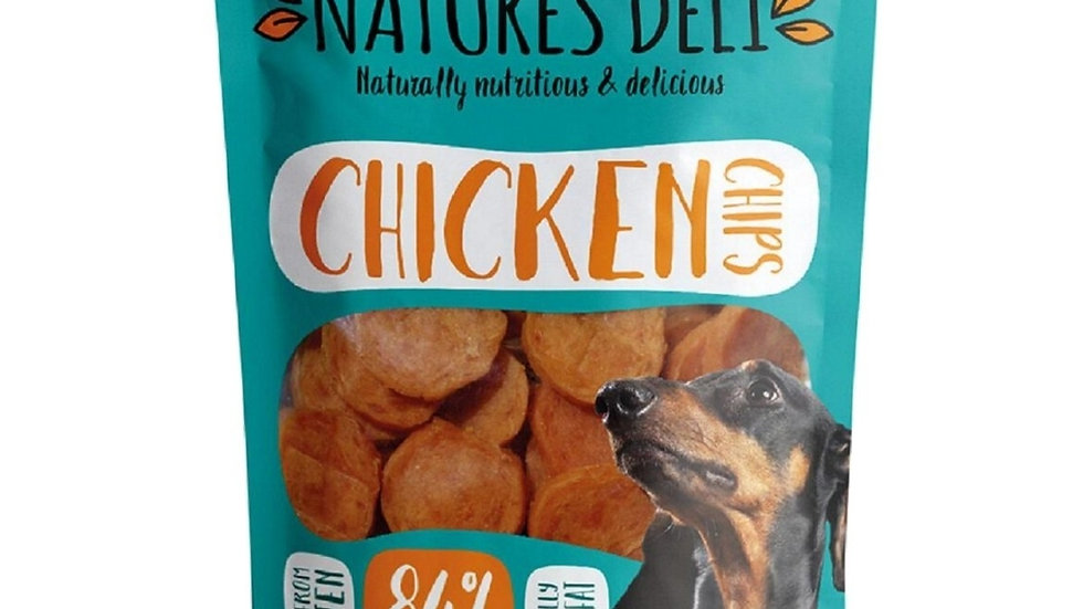 Natures Deli Chicken Chips 100g