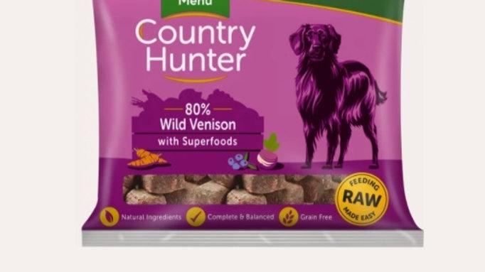 Natures Menu Raw - Wild Venison - 1kg