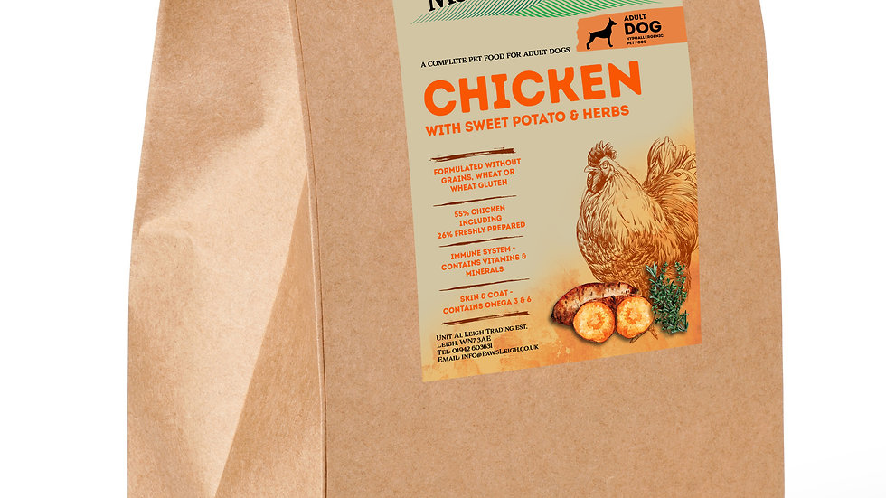 Working Dog Grain Free Complete Chicken 15kg
