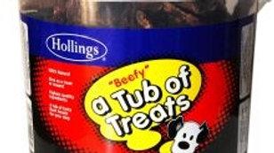 Hollings Tub Of Treats Beef 450g