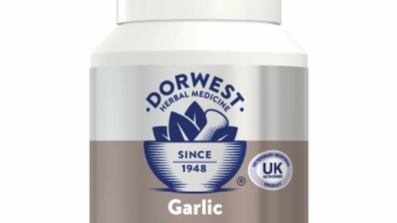 Garlic Tablets For Dogs And Cats  - Dorwest Herbs