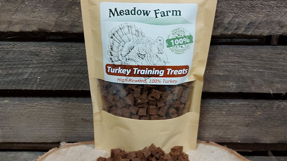 Turkey Training Treats 400g, Meadow Farm