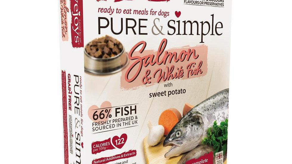 Pure & Simple Grain Free Salmon    - 350g - Love Joys