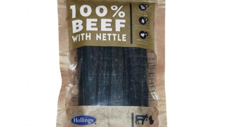 Beef & Nettle Bars - Hollings