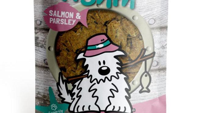 SALMON & PARSLEY Bakes - Dog Gone Fishin