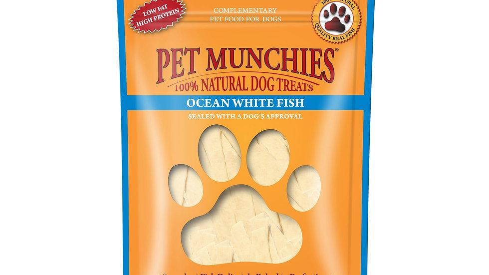 Ocean White Fish - Pet Munchies - 100g