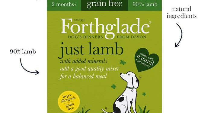 Forthglade Wet Dog Food Just Range