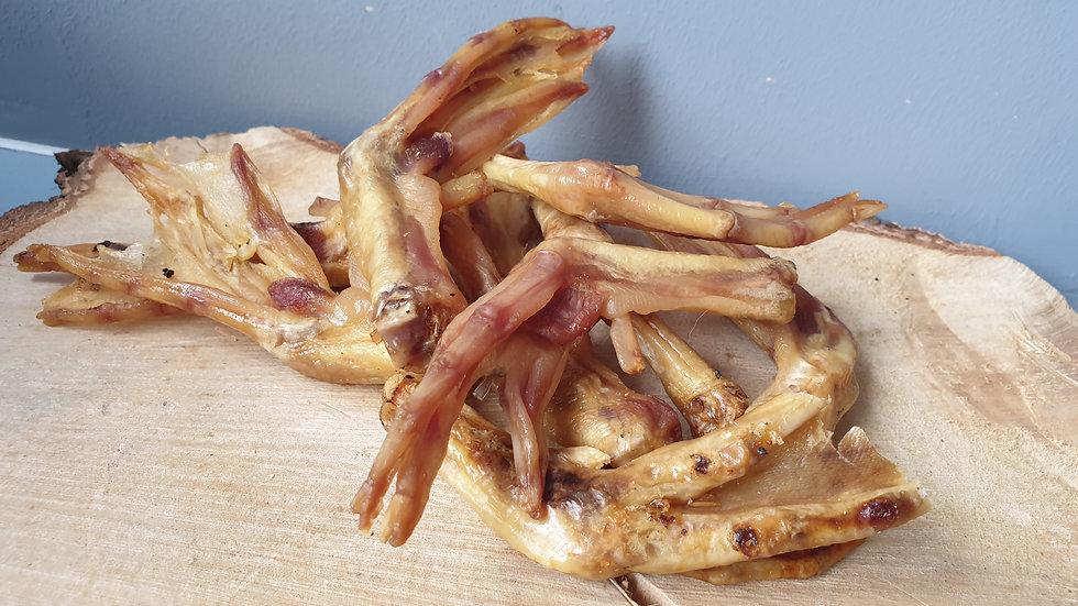Air Dried Duck Feet 1kg, Meadow Farm
