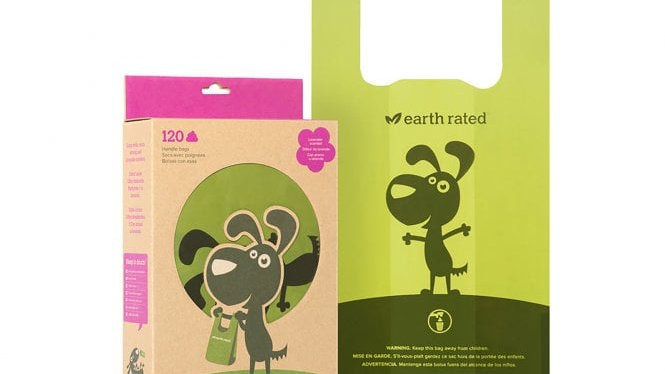 Earth Rated Poo Bags 120 Lavender