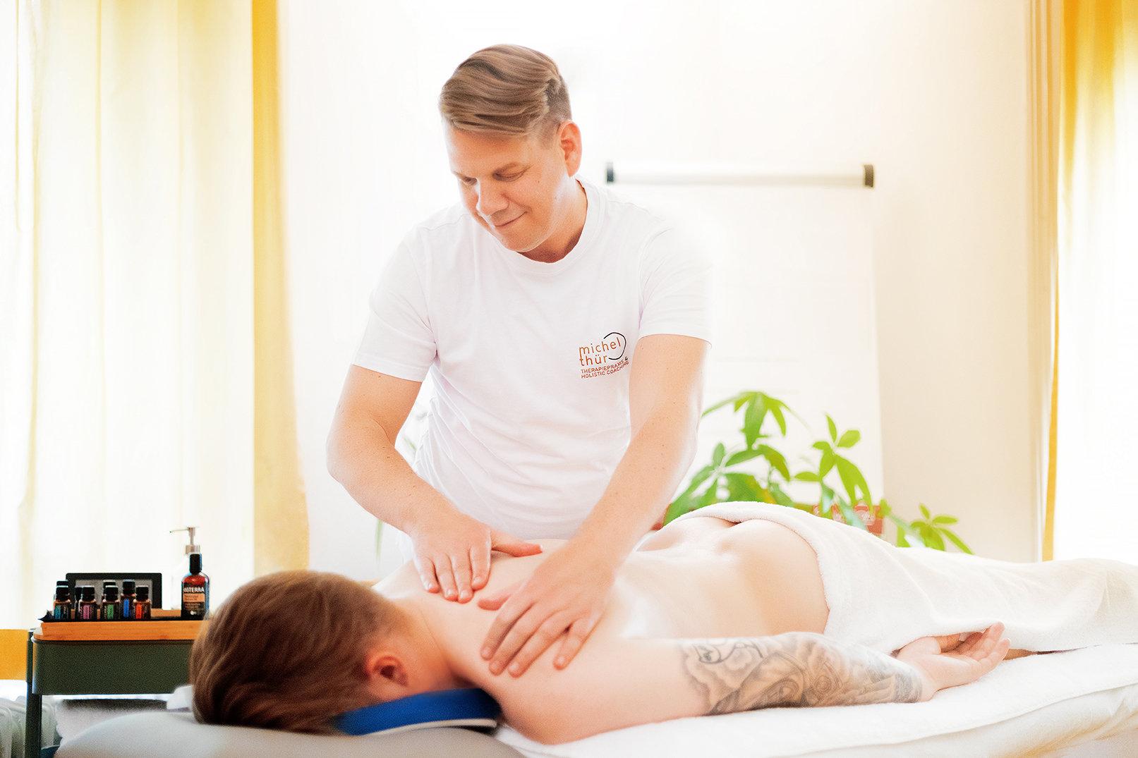 Klassische Rückenmassage 30 min Seebadi