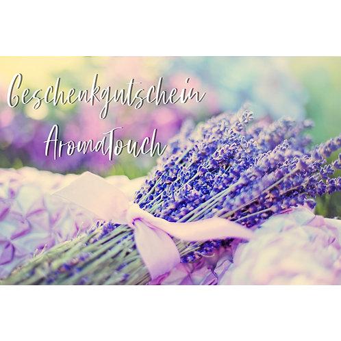 Geschenkgutschein AromaTouch Behandlung