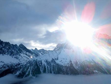 Nästa stopp Chamonix!