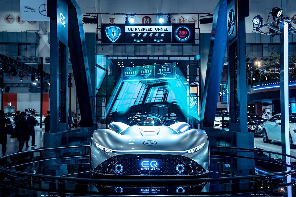 圖2:Mercedes-Benz全新概念車Version EQ Silver A
