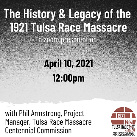 The History & Legacy of the 1921 Tulsa R