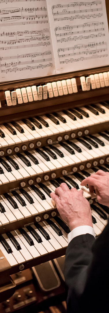 Casey Cantwell, Organist & Choir Director