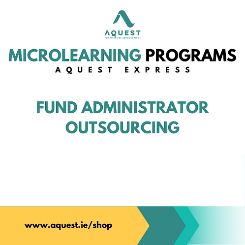 Fund Administrator Outsourcing