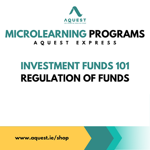 Investment Funds 101 - Regulation of Funds