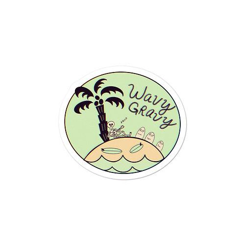 'Wavy Gravy' - Sticker