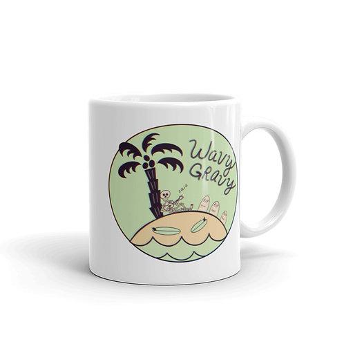 'Wavy Gravy' - Mug