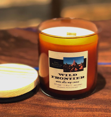 Wild Frontier Candle | Theme Park Fan Gift | Western RPG Accessory Scent