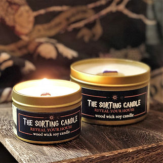 The Sorting Candle | Epic Adventure Candle Co.