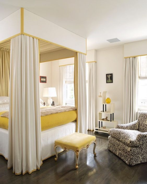HOT FOR HUE: YELLOW DECOR IN THE BEDROOM