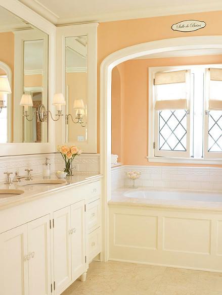 HOT FOR HUE: ORANGE BATHROOMS